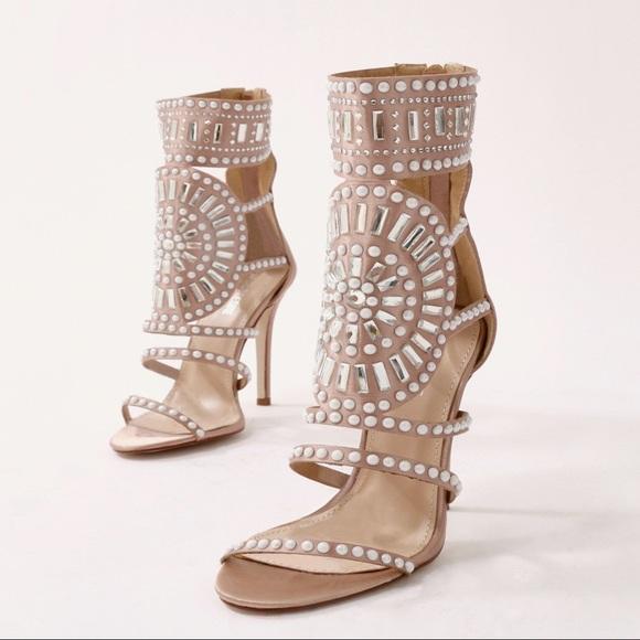 ba29038d0b5 Cleopatra Embellished Stiletto Heel. M 5b3050aeaaa5b84283fdedd2